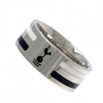 Tottenham Hotspur Ring with Colour Stripe - Small